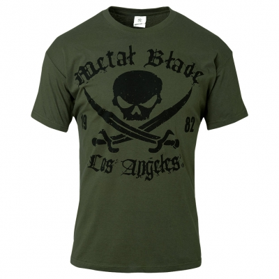 Pirate Logo LA Green | T-Shirt