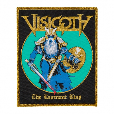 visigoth - Revenant King Gold Edges | Woven Patch