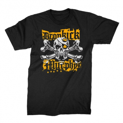 Dropkick Murphys - Punk Jolly Roger Black | T-Shirt