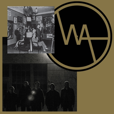 Western Addiction - Frail Bray   Black Vinyl+Flexi+Slipmat Bundle