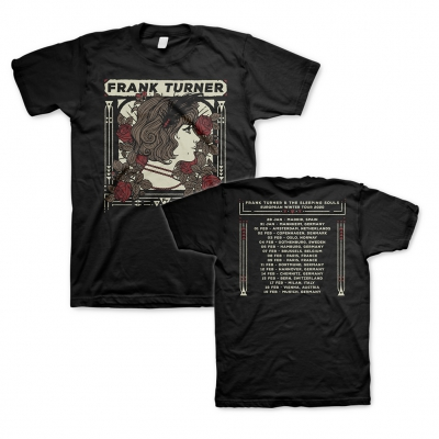 frank-turner - EU Winter Tour 2020 | T-Shirt