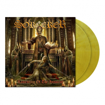 Sorcerer - Lamenting Of The Innocent | 2xClear Mustard Yellow