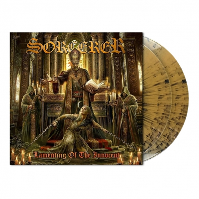 Sorcerer - Lamenting Of The Innocent | 2xGold/Black Dust