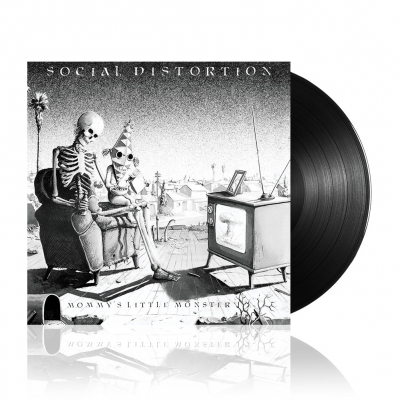 social-distortion - Mommy's Little Monster | Black Vinyl