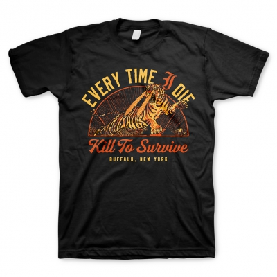 Every Time I Die - Kill To Survive | T-Shirt