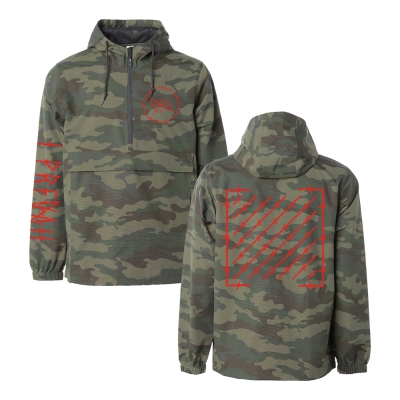 i-prevail - Trauma | Camo Anorak