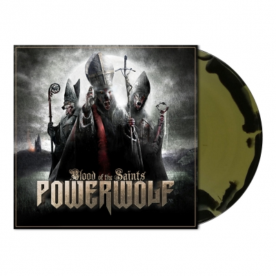 Powerwolf - Blood Of The Saints | Black/Gold Melt Vinyl