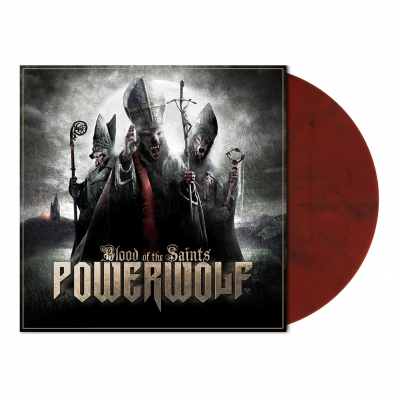 shop - Blood Of The Saints | Red/Black Marbled Vinyl