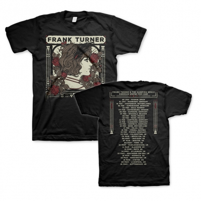 Frank Turner - UK Winter Tour 2020 | T-Shirt