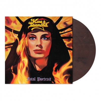 King Diamond - Fatal Portrait | Dark Violet Marbled Vinyl