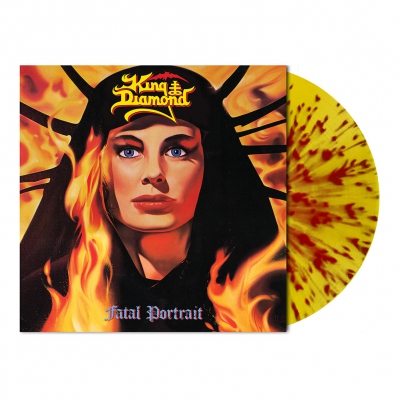 King Diamond - Fatal Portrait | Flame Splatter Vinyl