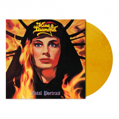 King Diamond - Fatal Portrait | Golden Yellow Marbled Vinyl