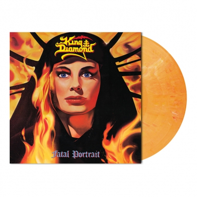 King Diamond - Fatal Portrait | Melon Orange Marbled Vinyl