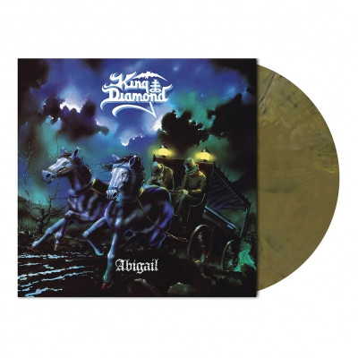 King Diamond - Abigail | Khaki Brown Marbled Vinyl