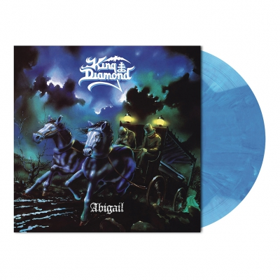 King Diamond - Abigail | Opaque Light Blue Marbled Vinyl