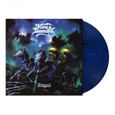 King Diamond - Abigail | Midnight Blue/White Marbled Vinyl