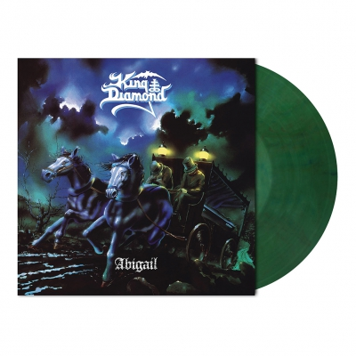 King Diamond - Abigail | Moss Green Marbled Vinyl