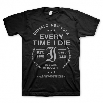 every-time-i-die - Badge Black | T-Shirt