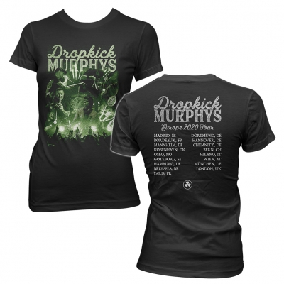 dropkick-murphys - Live Photo Collage Tour 2020 | Girl T-Shirt