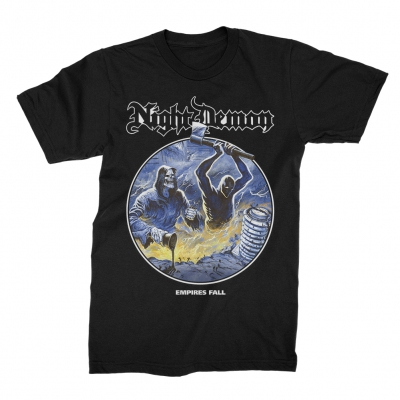 Night Demon - Empires Fall | T-Shirt