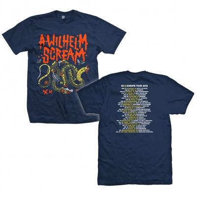 A Wilhelm Scream - Tour Snake | T-Shirt