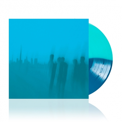 shop - Is Survived By | Blue Split Vinyl