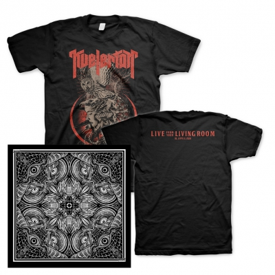 Kvelertak - Live From Your Living Room | T-Shirt+Bandana Bundle