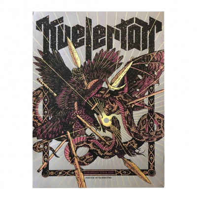kvelertak - EU Tour 2020 | Screen Print