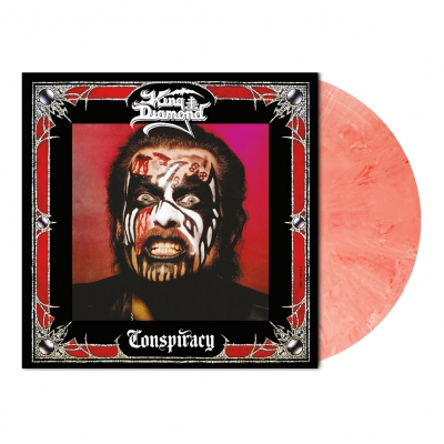 King Diamond - Conspiracy | Bloody Skin Marbled Vinyl