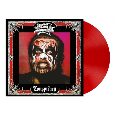 King Diamond - Conspiracy | Opaque Cherry Red Vinyl