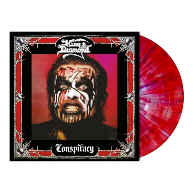 King Diamond - Conspiracy | Red/White/Purple Splatter Vinyl