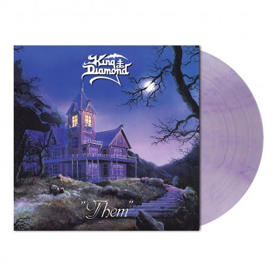 King Diamond - Them | Clear Lavender Marbled Vinyl
