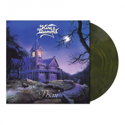 King Diamond - Them | Olive Green/Brown Marbled Vinyl