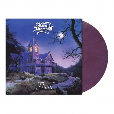 King Diamond - Them | Pastel Violet Marbled Vinyl