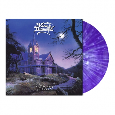 King Diamond - Them | Purple/White Splatter Vinyl