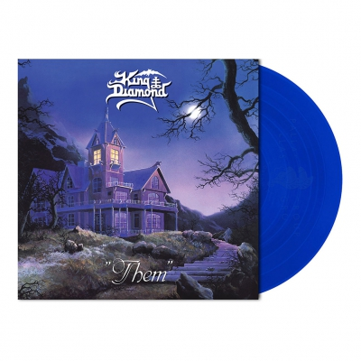 shop - Them | Clear Royal Blue Vinyl