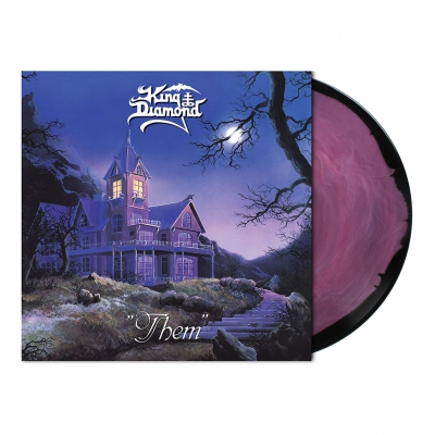 King Diamond - Them | Dark Rose/Black Melt Vinyl