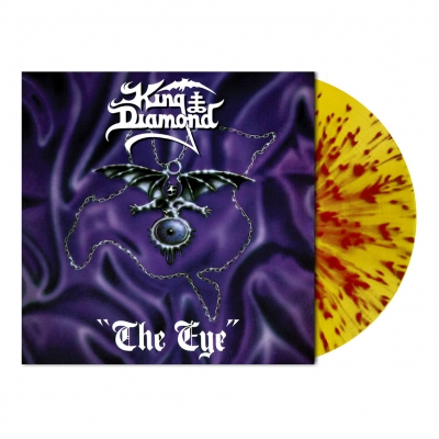 King Diamond - The Eye | Flame Splatter Vinyl