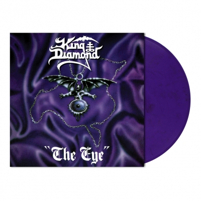 King Diamond - The Eye | Purple/Black Marbled Vinyl