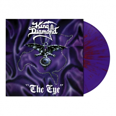 shop - The Eye | Purple/Red Splatter Vinyl