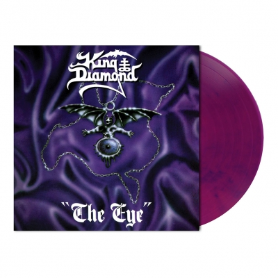 King Diamond - The Eye | Clear Violet/Red/Blue Marbled Vinyl