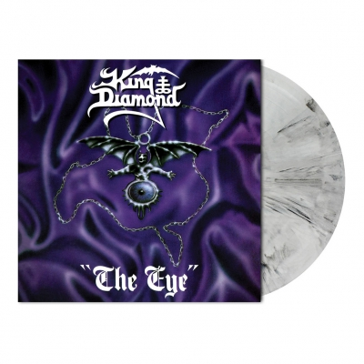 King Diamond - The Eye | White/Black Marbled Vinyl