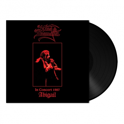 King Diamond - In Concert 1987-Abigail | 180g Black Vinyl