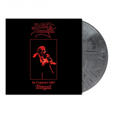 King Diamond - In Concert 1987-Abigail | Cool Grey Marbled Vinyl