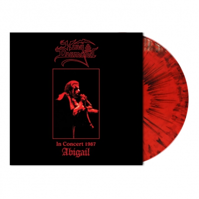King Diamond - In Concert 1987-Abigail | Red/Black Dust Vinyl