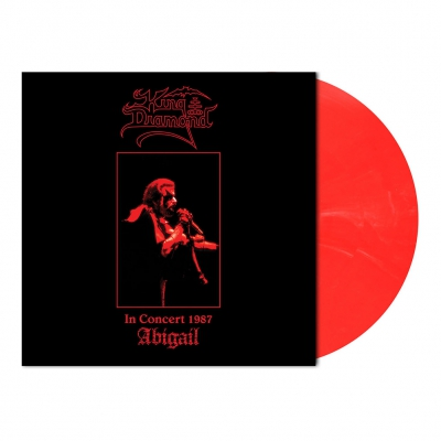King Diamond - In Concert 1987-Abigail | Translucent Red/White Ma