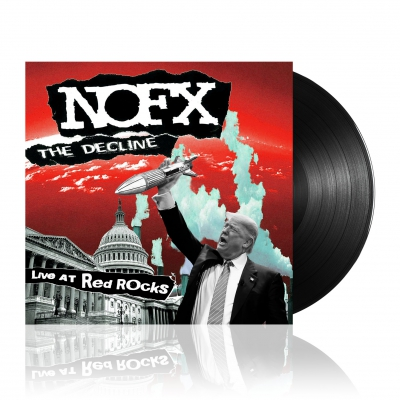 nofx - The Decline Live at Red | Black Vinyl