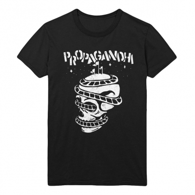 propagandhi - Rollercoaster Skull | T-Shirt