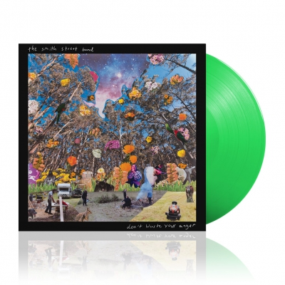 shop - Don't Waste Your Anger | Green Vinyl