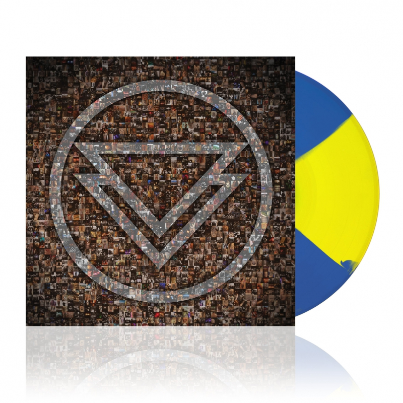 The Ghost Inside - The Ghost Inside | Yellow Blue Butterfly Vinyl